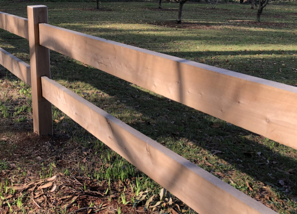 Traditional Post And Rail Fencing Carrum Downs Timber